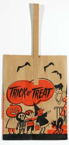 kids trick or treating - Kids Halloween Treat Bags